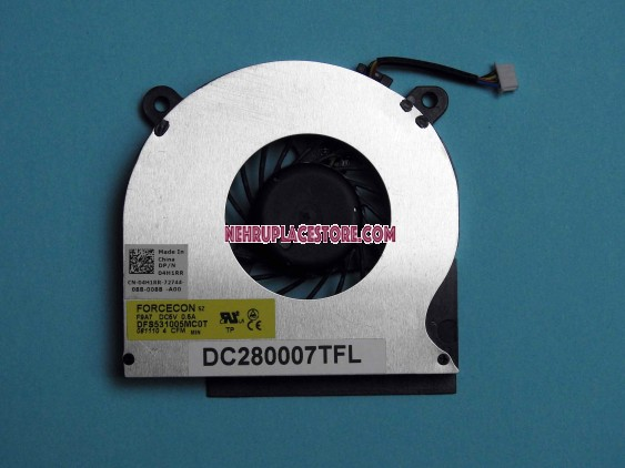 Dell  Latitude E6410 E6510 Replacement CPU Cooling fan