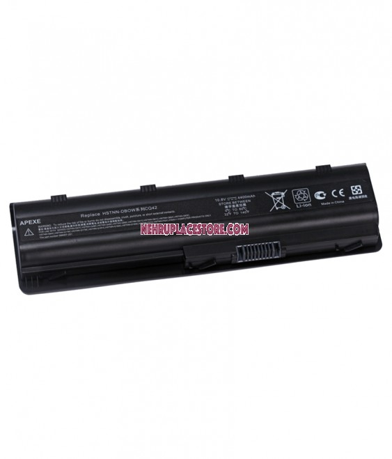 Apexe Laptop Battery For HP CQ42-354TU - Black