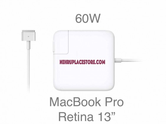 """A1435 60W MagSafe 2 Power Adapter for Apple Macbook Pro Retina 13"""" A1502 A1425"""