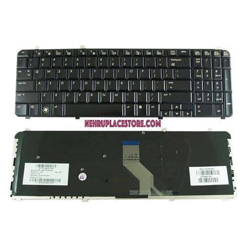 Laptop Keyboard For Hp Pavilion Dv6-2125tx  Black