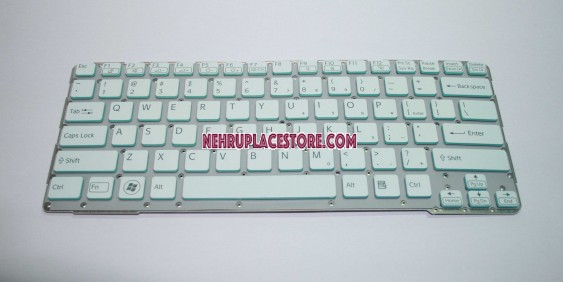 Sony SVE14A SVE14A27CXH 149010211us SVE14A2C231H SVE14AA11M Keyboard White without frame