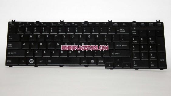 Replacement Laptop Keyboard Toshiba Satellite Pro C650 C655 C660 C665 L650 L655 L670 L750 L770 US