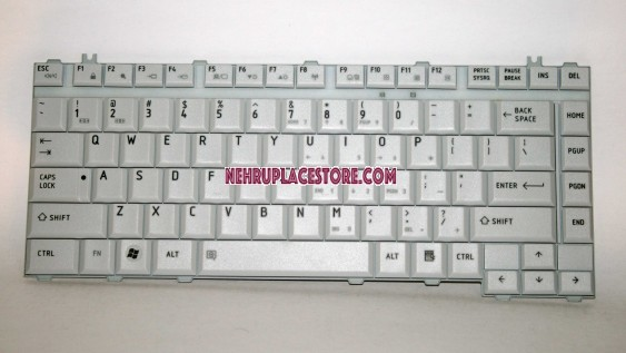 Toshiba Satellite A200, A205, A210, A215, M200, M205, M300, L200, L300, L305, L310, A300, A305, A350, Qosmio F40, Qosmio F45 Series Laptop US Layout Keyboard