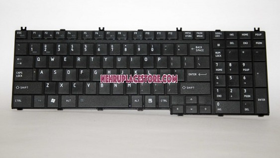 Replacement keyboard for Toshiba Satellite A500 P200 P300 L350 L500 X500 X300 A505 A505D F501 L535 P205 P505