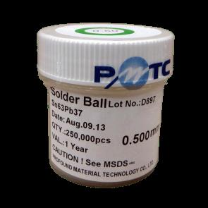 PMTC BGA Solder Balls 0.5mm - Leaded Sn63Pb37