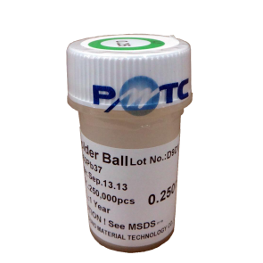 Profound Material Technology Co. Ltd. 0.25mm 250,000 balls Solder Balls : 63Sn/37Pb