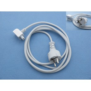 AC Power Adapter Extension Cable for Apple MacBook - White