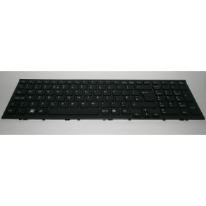 SONY VAIO VPC-EL laptop Keyboard Black With Frame UK 9Z.N5CSW.A0U 148968911