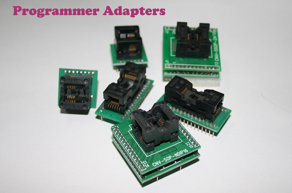 EEPROM Programmer Adapters