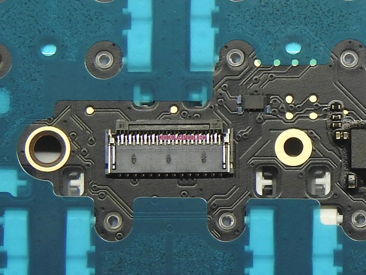 A1708 Oem Keyboard For Apple Macbook Pro Retina 13 With Touchbar Internal Circuitry Connector