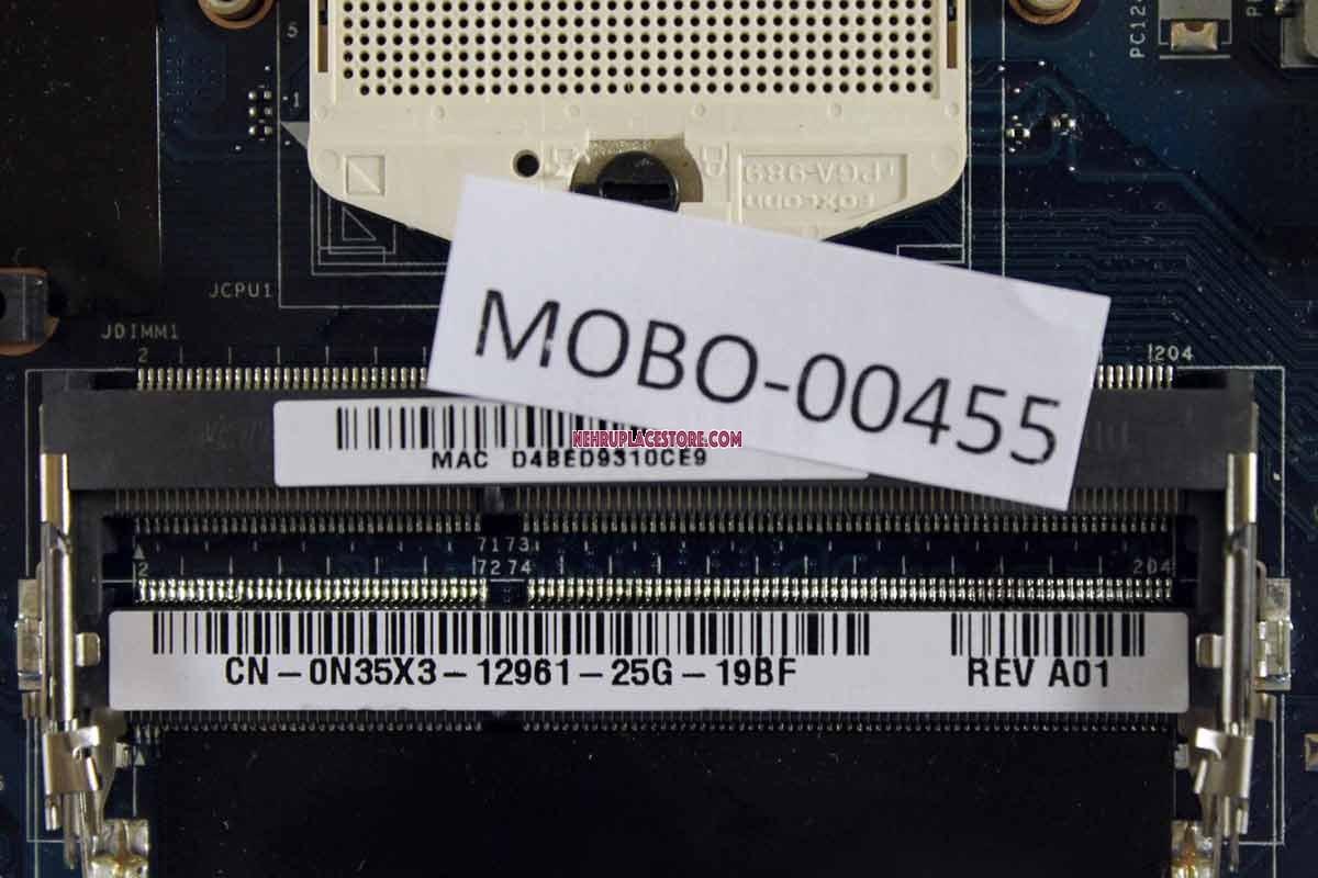 Dell Inspiron 15R 5520 Intel Motherboard LA-8241P N35X3 0N35X3 CN-0N35X3
