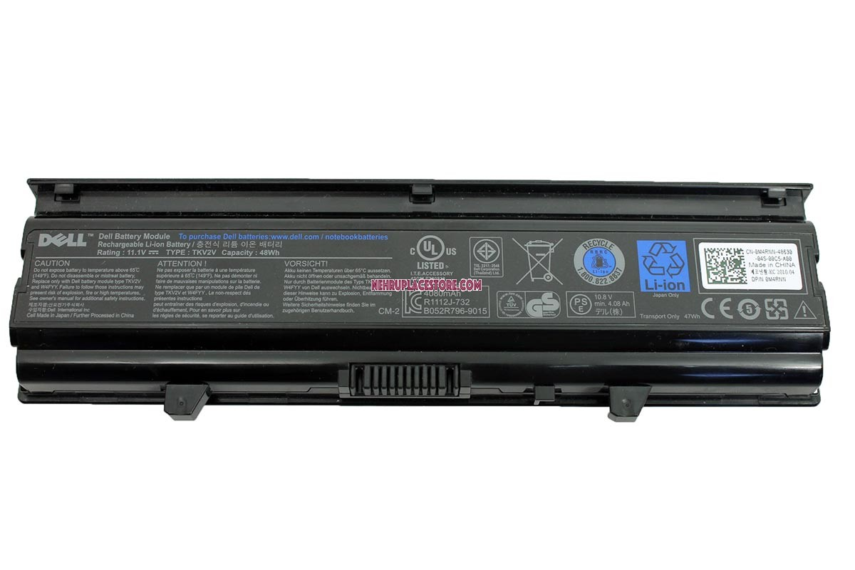 Dell Inspiron N Original Battery on Laptop Power Supply Circuit