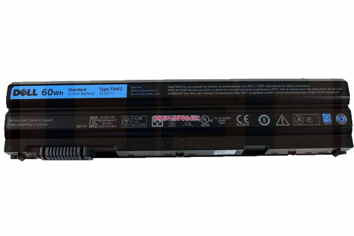 Dell Latitude E6540 6-cell Laptop Original Battery 60Wh - N3X1D NH6K9