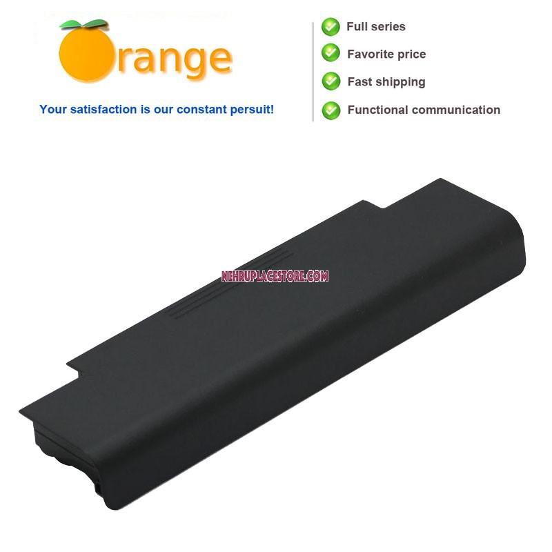 Orange Laptop Battery For Dell Inspiron N5050 5200mAh