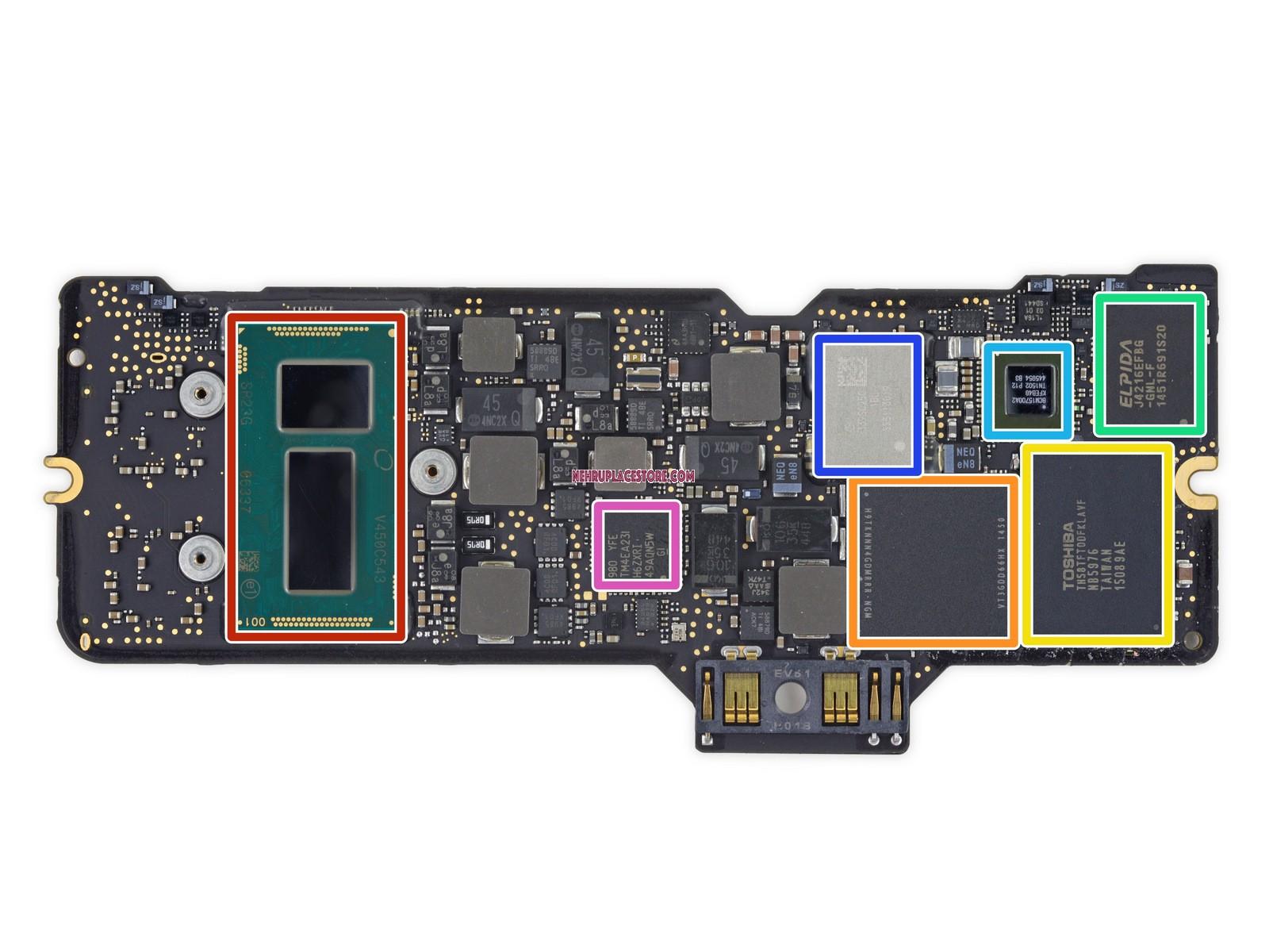 Macbook Air Logic Board 13