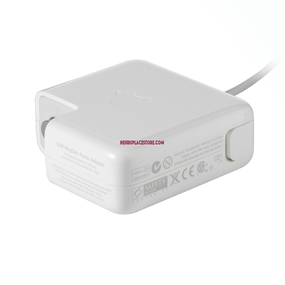 Used Macbook Pro Charger: Apple 60W MagSafe Power Adapter (for MacBook And 13-inch