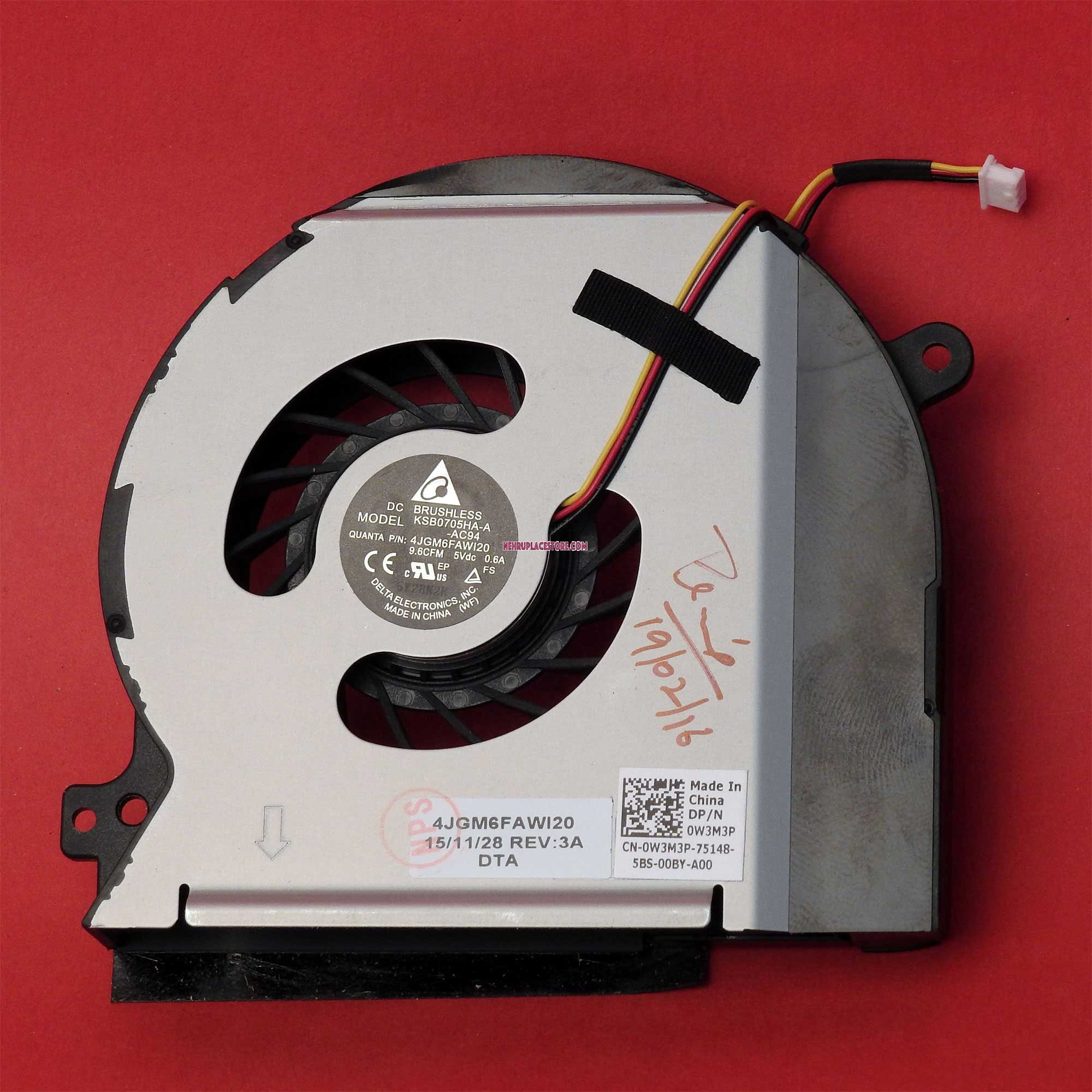 Price List for Dell Laptops Internal CPU Cooling Fans India