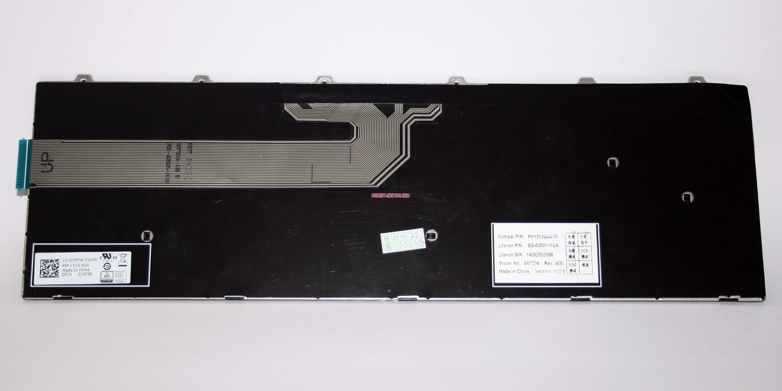 New Dell Inspiron 3000 5000 Series 15 3541 3542 3543 5542 5545 5547 Laptop  US Keyboard 0JYP58 Non-Backlit