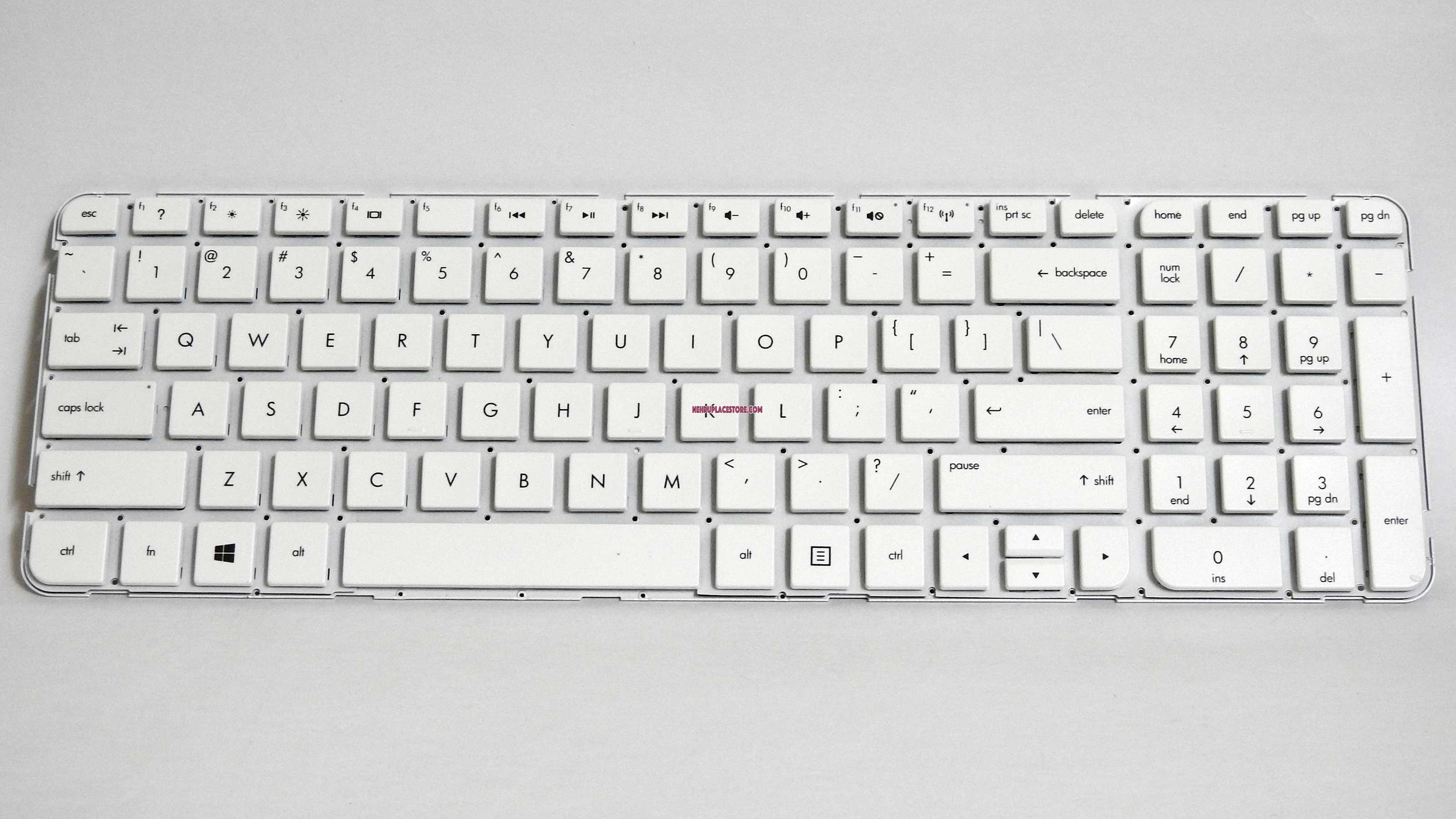Replacement Keyboard For Hp G6 2000 White Laptop Without Frame