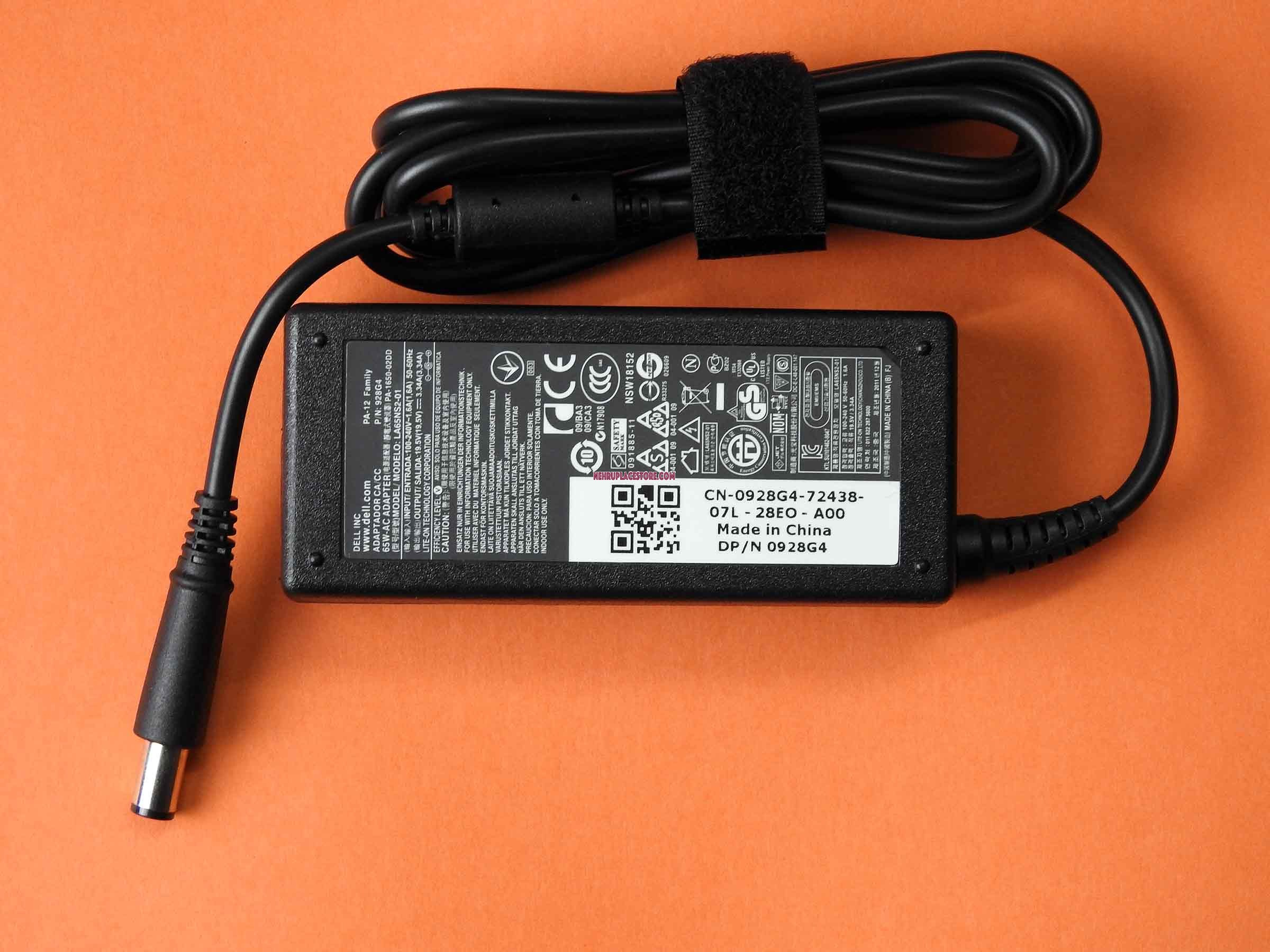 Dell Inspiron N5010 65w Original Laptop Adapter Charger Without Motherboard Layout Xps M1210