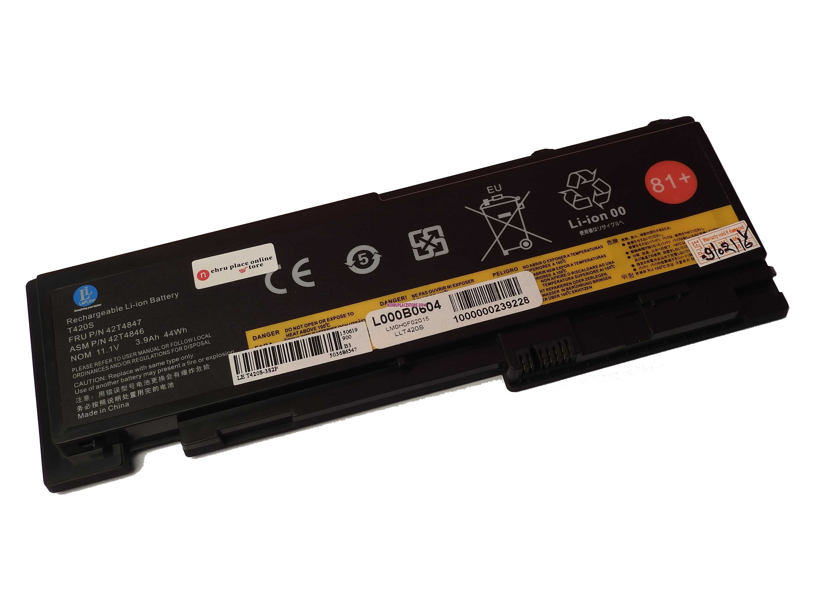 Laplife Lenovo Laptop Battery - Lenovo - Laptop Battery