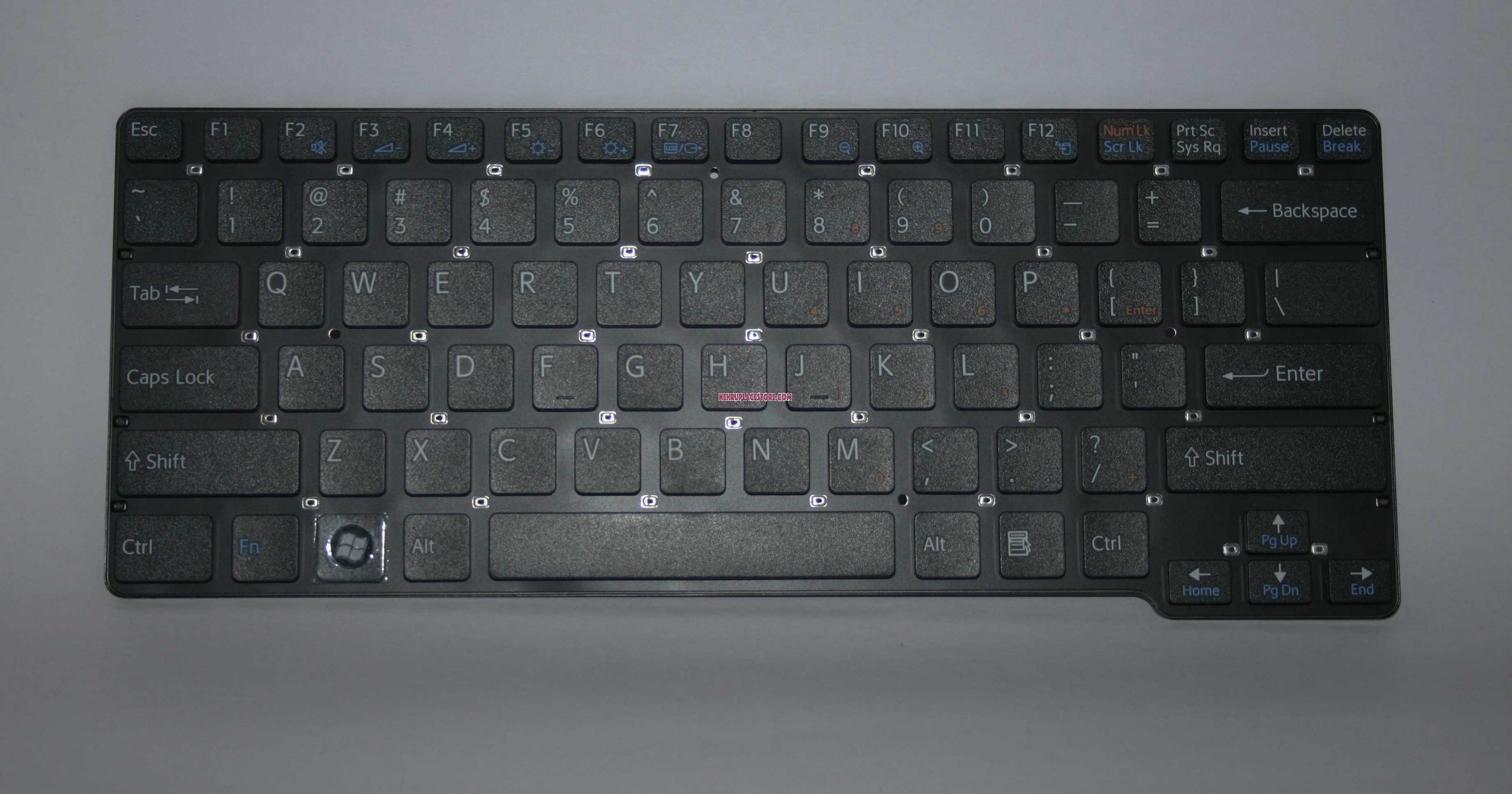 Sony Vpc Cw With Black Frame Us Layout Keyboard 148754521