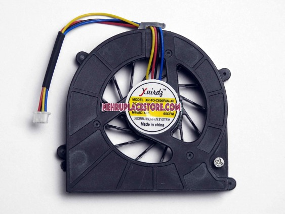 Toshiba Satellite L630, L640, L645, L600d, C640, C630 Ksb0505hb - 4 Pin Laptop Cooling Fan