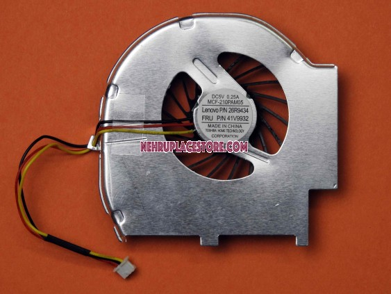 IBM Lenovo T60 T60P 41V9932 series Laptop CPU Cooling fan without Heatsink