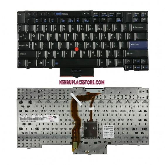 IBM/Lenovo Thinkpad T410, T410i, T410S, T410Si, T510, W510 Keyboard Black Alt FRU# 04W2753 45N2106 45N2211 FRU# 45N2141