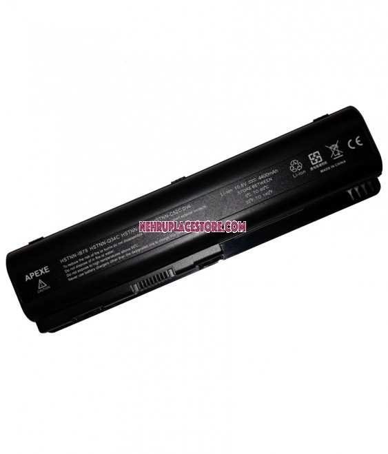 Apexe Rechargeable Li-ion Battery 4400 mAh For Hp Dv4t-1200 Se Cto
