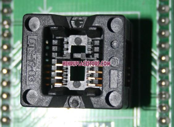 SOP8 socket CNV-SOP-NDIP16 Programmer socket 200MIL
