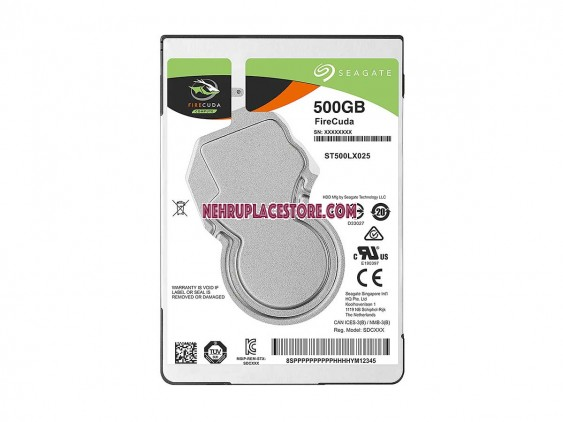 Seagate 500 GB Firecuda SATA 6Gb/s Laptop Internal SSHD Hard Drive