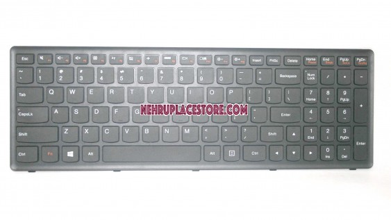 IBM Lenovo Ideapad G500s G505s keyboard with black frame