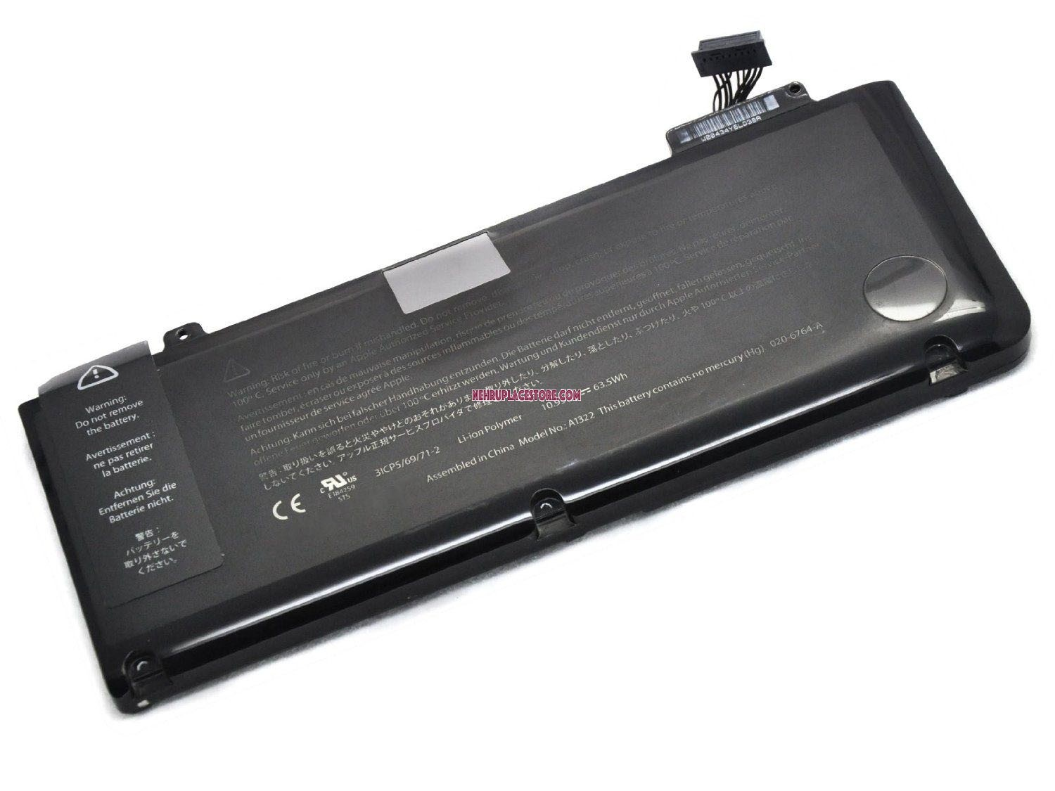 Compatible A1322 Battery for Macbook Pro A1278 High Quality with 1 Year  Replacement warranty