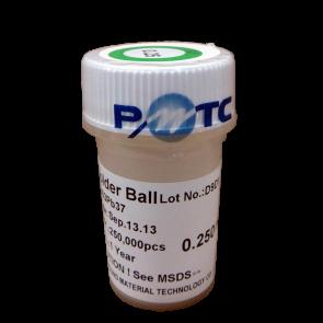 0.25mm 250,000 balls Solder Balls
