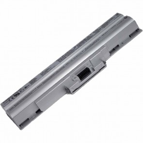 Sony VAIO VGP-BPL13 Laptop / Notebook Battery With Original Cells -Silver