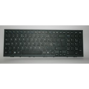 SONY VAIO VPC-EL laptop Keyboard Black With Frame UK 9Z.N5CSW.A0U 148968911