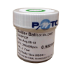 PMTC BGA Solder Balls 0.5mm Leaded Sn63 Pb37